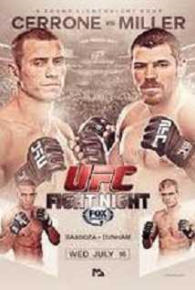 Ufc Fight Night 45 Cerrone Vs Miller