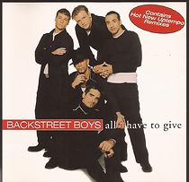 Backstreet Boys: All I Have To Give