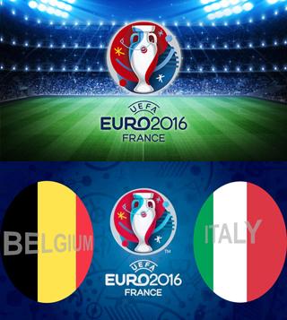 Uefa Euro 2016 Group E Belgium Vs Italy