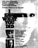 I Saw What You Did (1988)