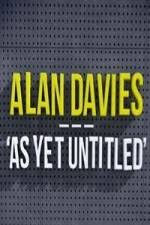 Alan Davies: As Yet Untitled: Season 4