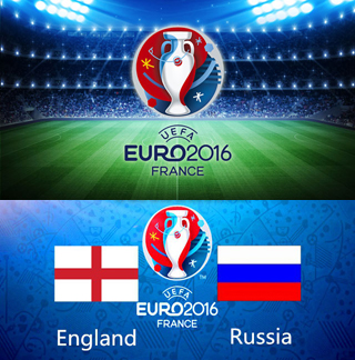 Uefa Euro 2016 Group B England Vs Russia