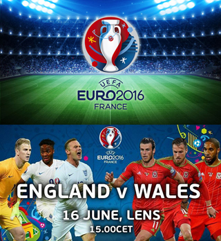 Uefa Euro 2016 Group B England Vs Wales