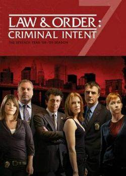 Law & Order: Criminal Intent: Season 7