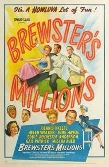 Brewster's Millions 1945