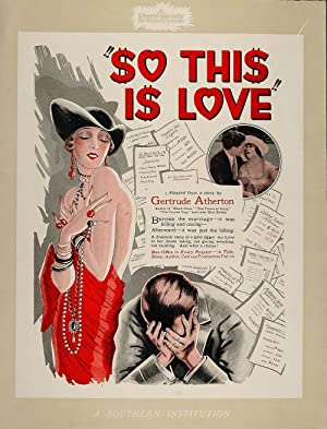 So This Is Love 1928