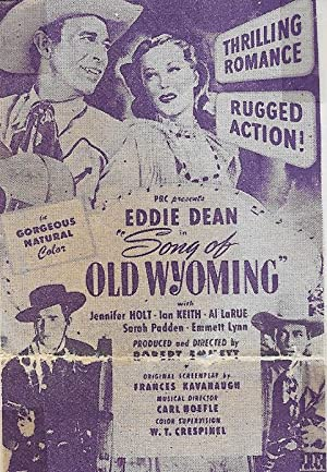 Song Of Old Wyoming