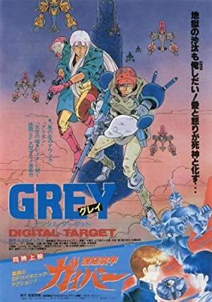Grey Digital Target (dub)