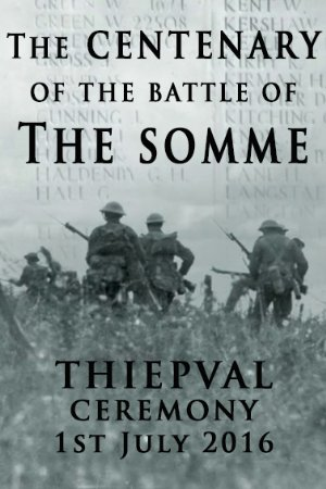 The Centenary Of The Battle Of The Somme: Thiepval