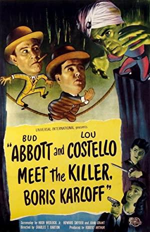 Bud Abbott Lou Costello Meet The Killer Boris Karloff