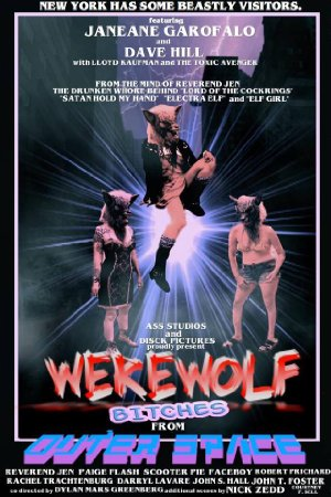 Werewolf Bitches From Outer Space