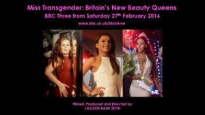 Miss Transgender: Britain's New Beauty Queens