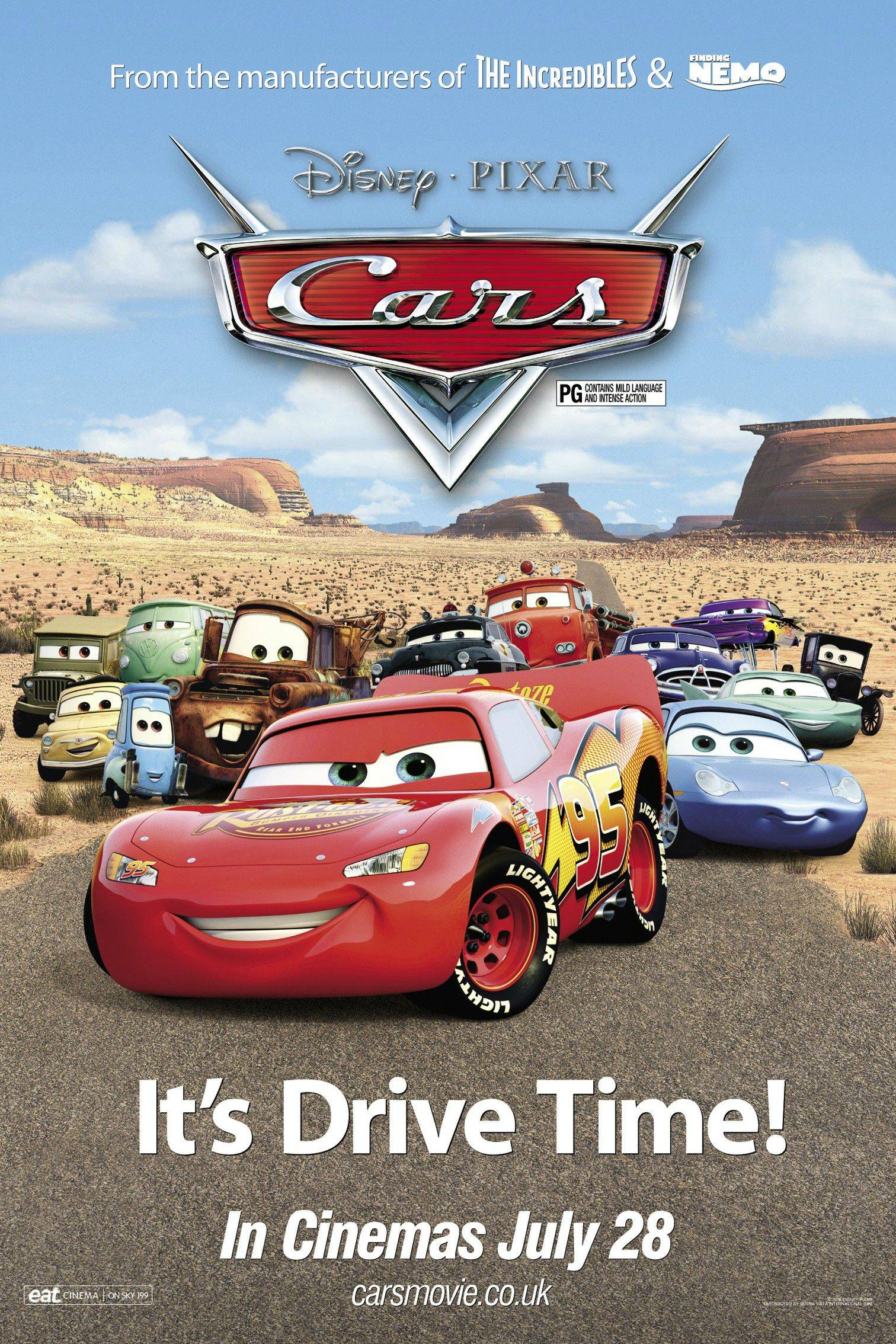 CARS 3 DVD MOVIE POSTER SS ORIGINAL MINI 22x28 DISNEY OWEN ... |Cars Movie Poster Free Candy