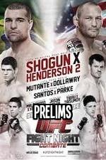 Ufc Fight Night 39 Prelims