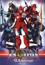 Ronin Warriors Legend Of Kikoutei (dub)