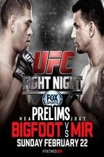 Ufc Fight Night 61 Bigfoot Vs Mir Prelims