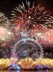 London Nye 2013 Fireworks