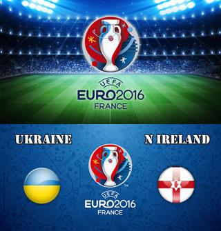 Uefa Euro 2016 Group C Ukraine Vs Northern Ireland