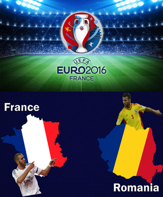 Uefa Euro 2016 Group A France Vs Romania