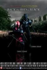 Deadpool Black Panther Back In Red & Black