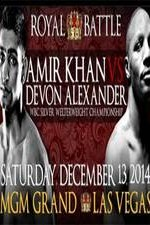 Amir Khan V Devon Alexander