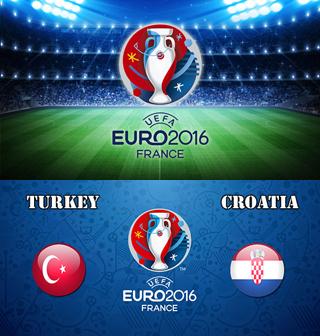 Uefa Euro 2016 Group D Turkey Vs Croatia