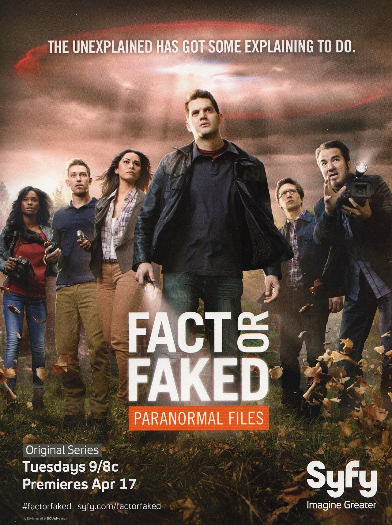Fact Or Faked: Paranormal Files: Season 1