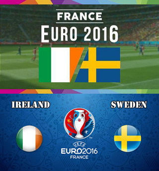 Uefa Euro 2016 Group E Sweden Vs Republic Of Ireland
